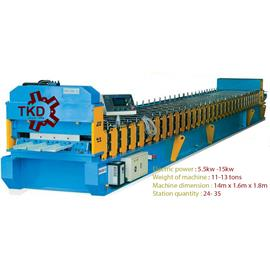 BOLTLESS ROOFING FORMING MACHINE