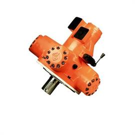 High and low speed hydraulic motor
