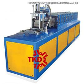 HORIZONTAL SHUTTER DOOR ROOL FORMING MACHINE