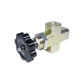 Needle  Gauge Valve with Drain