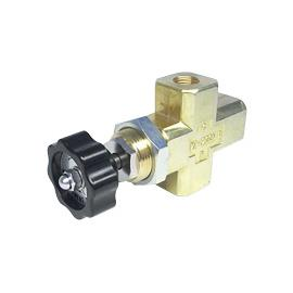 Push  Type  Gauge Valve with Drain